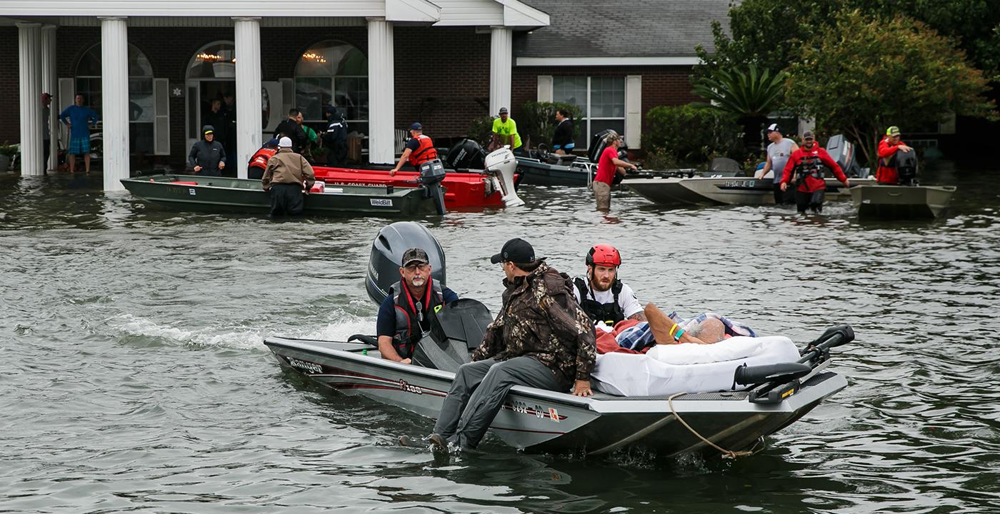 Hurricane Harvey Revcovery, AARP Fundraiser
