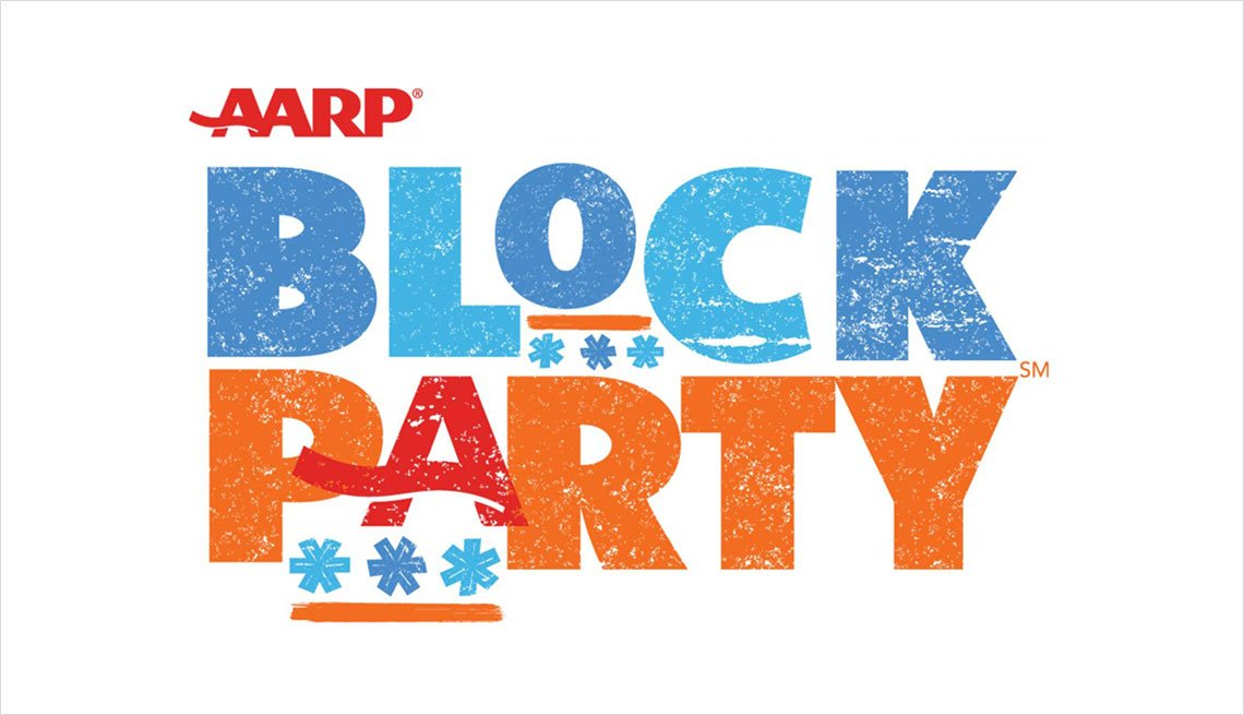 AARP Block Party Logo