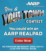 You and Your Town Contest-You could win an AARP RealPad