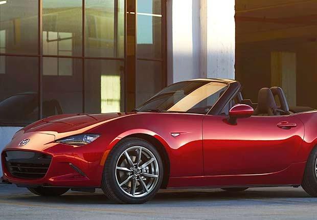 Automóviles para desplazarse al trabajo - Mazda miata mx5