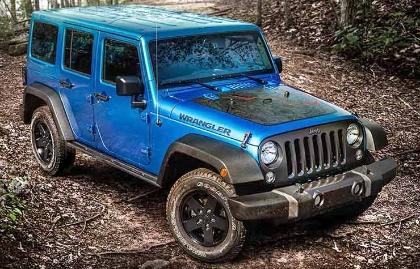 Los autos más económicos de asegurar - Jeep Wrangler