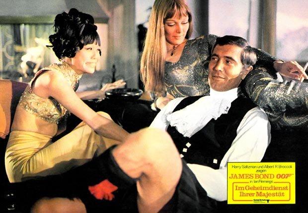 George Lazenby - 50 años de James Bond: Desde Sean Connery a Daniel Craig