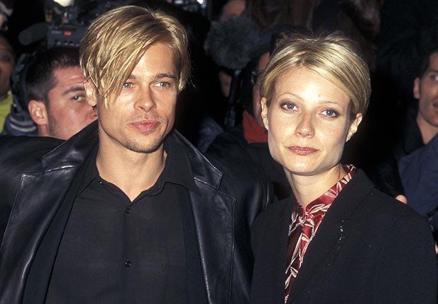 Gwyneth Paltrow y Brad Pitt - Brad Pitt cumple 50 años - Su carrera en imágenes