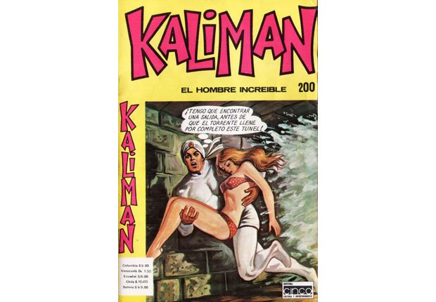 Kaliman - Superheroes latinoamericanos