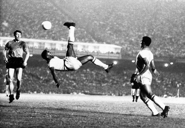 Pelé - Los mejores goleadores de todos los tiempos
