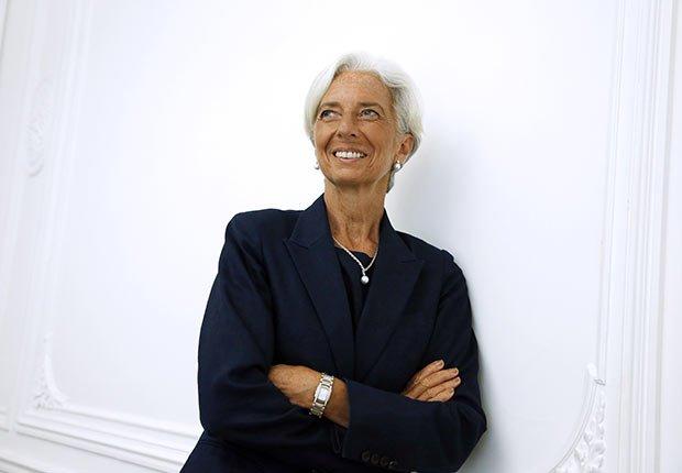 Christine Lagarde - Personalidades con canas