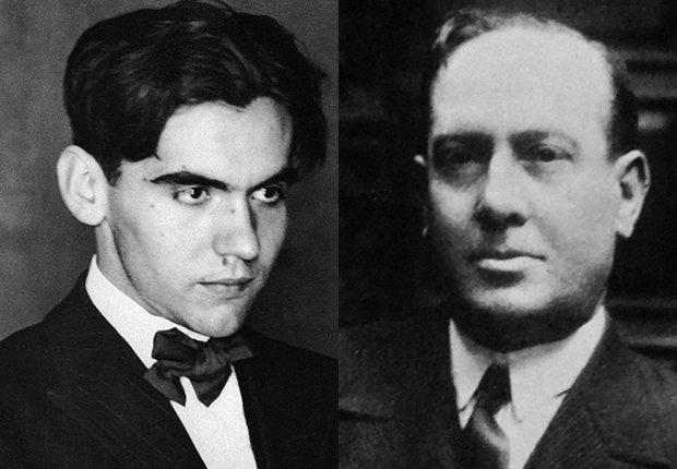 Federico García Lorca y Antonio Machado