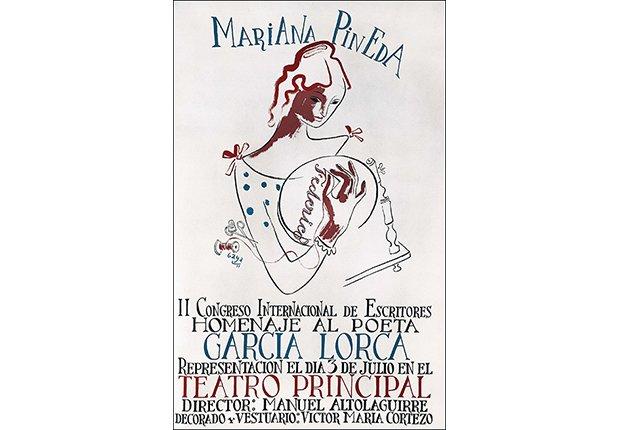 Afiche de Mariana Pineda