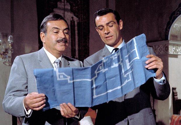 Pedro Armendáriz un actor que dejó huella en México y Hollywood - En una escena de la película de James Bond, From Rusia with Love, con  Sean Connery, 1963.