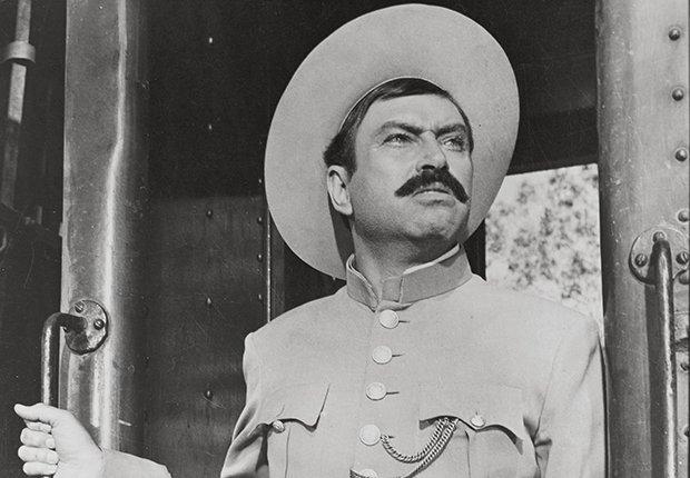 Pedro Armendáriz un actor que dejó huella en México y Hollywood - En una escena de la película Así era Pancho Villa, 1957