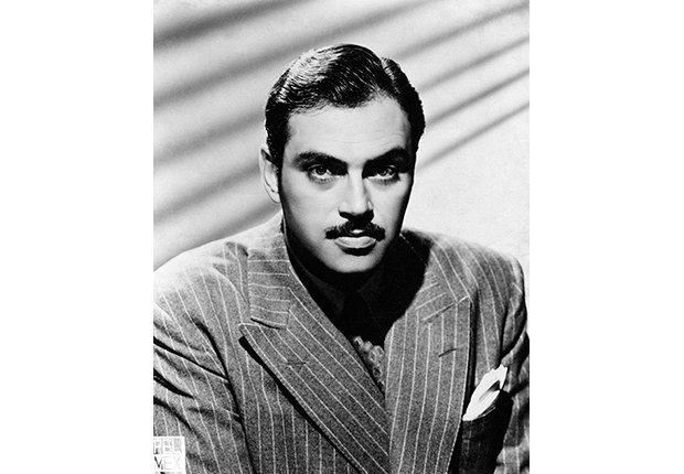 Pedro Armendáriz un actor que dejó huella en México y Hollywood, foto en los años cuarenta