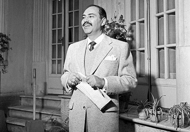 Pedro Armendáriz un actor que dejó huella en México y Hollywood, foto de 1960