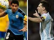 Luis Suarez y Lionel Messi