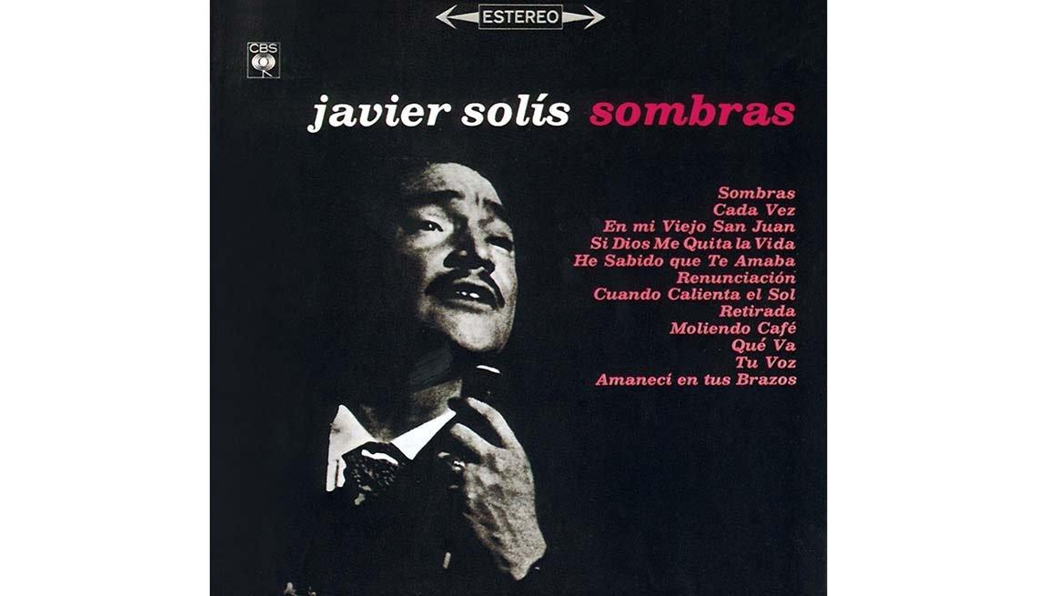 Portada del disco Sombras, de Javier Solis