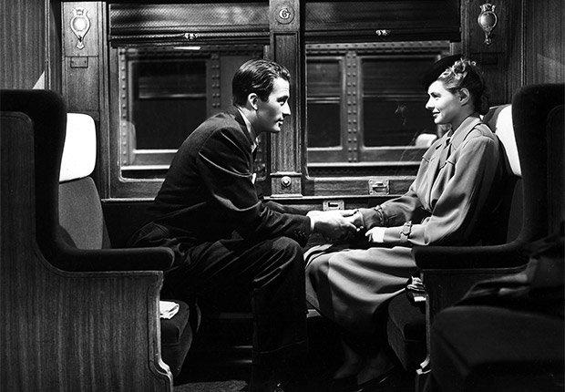 Gregory Peck e Ingrid Bergman en una escena de 'Spellbound' - Carrera del actor en Hollywood