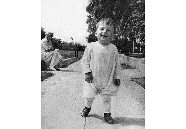 Gregory Peck cuando era un niño - Carrera del actor en Hollywood