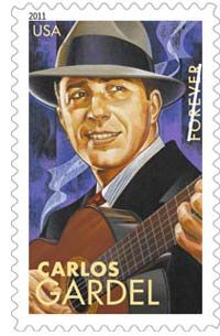 Carlos Gardel: 5 Latin Music Legends on U.S. Postage Commemorative Forever Stamps