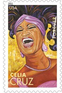 Celia Cruz: 5 Latin Music Legends on U.S. Postage Commemorative Forever Stamps
