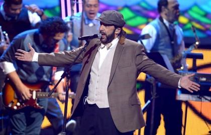 Juan Luis Guerra en los Latin Grammys en Las Vegas 2012