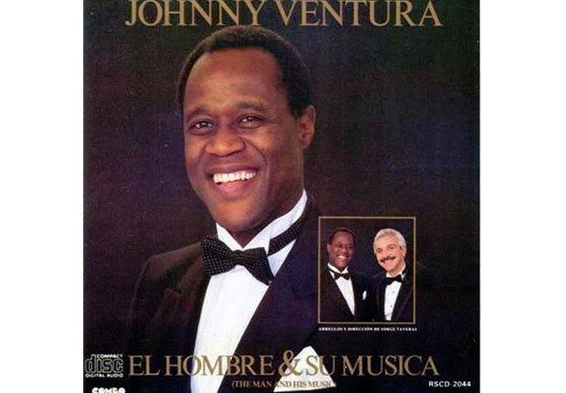 Johnny Ventura y su carrera artística- Portada del disco El hombre y su música