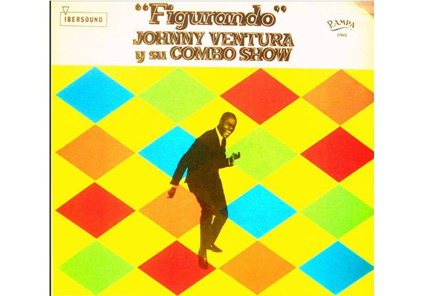 Johnny Ventura y su carrera artística - Portada del disco Figurando