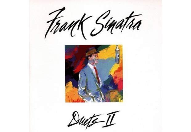 Frank Sinatra, portada del disco Duets II - 100 años de su natalicio