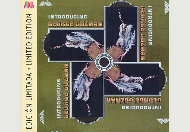 Portada del disco, Introducing George Guzman - 10 Canciones representativas del Boogaloo