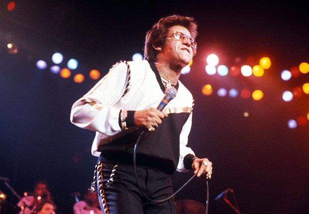 Héctor Lavoe en un concierto