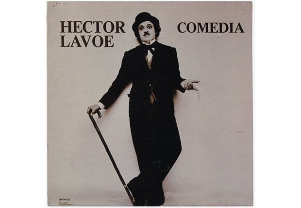 Héctor Lavoe. Portada del disco Comedia, 1978