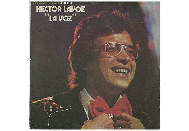 Héctor Lavoe Album, portada del disco La Voz.