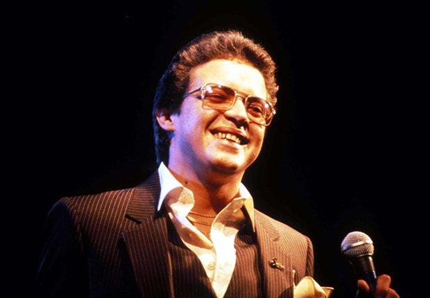 Héctor Lavoe foto durante un concierto