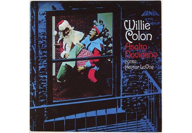 Portada del disco Asalto navideño, de Willie Colón y Héctor Lavoe, 1971
