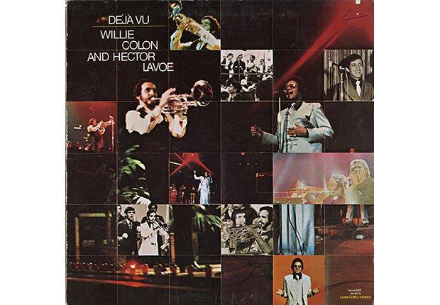 Portada del disco Deja Vu de Héctor Lavoe y Willie Colón