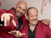 Marlow Rosado y Larry Harlow