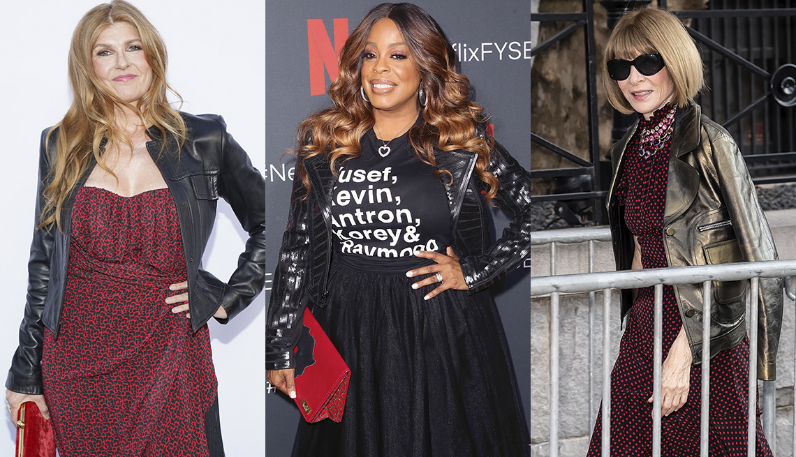 item 10, Gallery image. Connie Britton, Niecy Nash, Anna Wintour