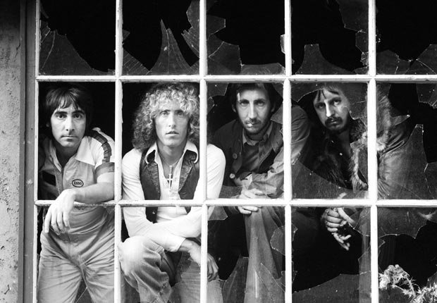 he Who at a broken window in 1978, the same year that band member, Keith Moon (1947-1978) died - Pete Townshend Retrospective