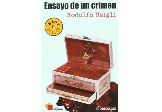 Portada de Ensayo de un crimen, Novelas de crimen y detectives para todos los gustos.