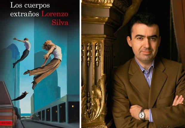Portada de Los cuerpos extraños. Foto de Lorenzo Silva. Novelas de crimen y detectives para todos los gustos.