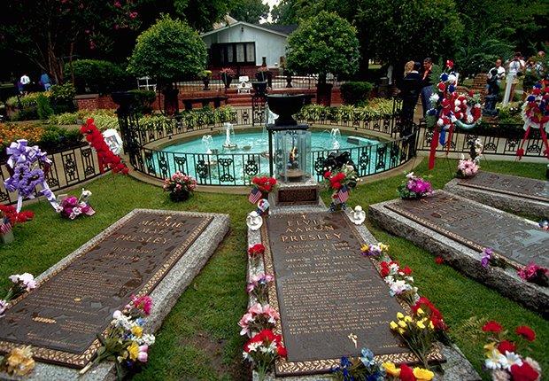 Mausoleo- Elvis Presley, 40 años de su muerte