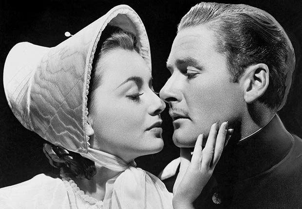 Olivia de Havilland couple