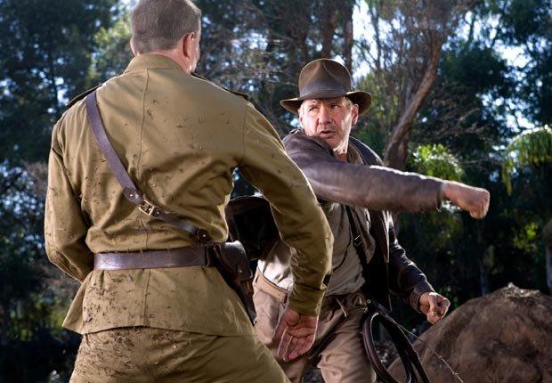 Indiana Jones and the Kingdom of the Crystal Skull (2008). Película protagonizada por Harrison Ford. Películas de acción para los adultos.