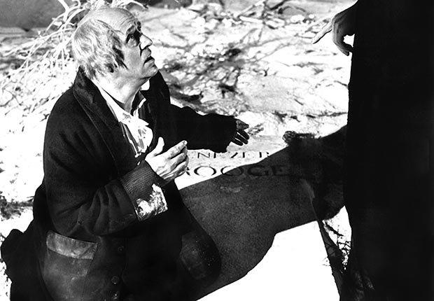 Alastair Sim as Scrooge, 1951.