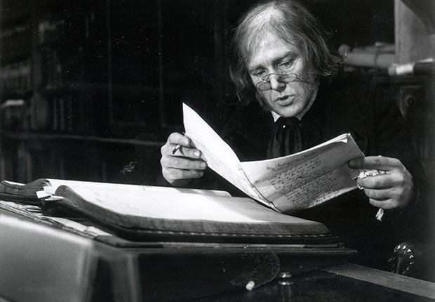 Albert Finney as Scrooge, 1970