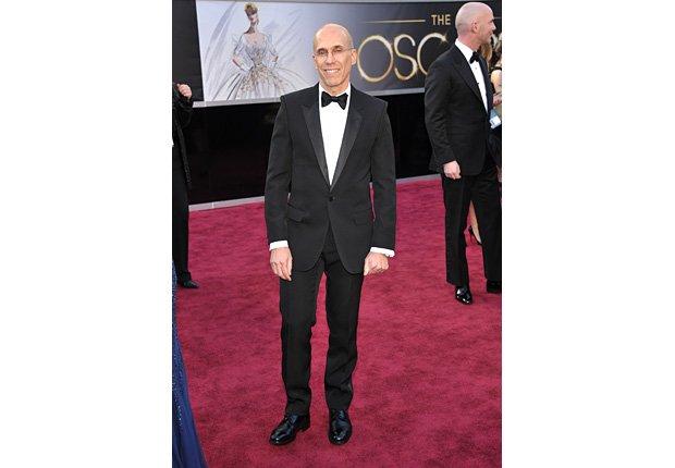 Producer Jeffrey Katzenberg arrives at the Oscars