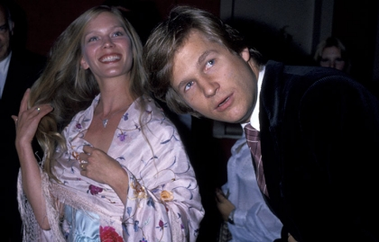 Jeff Bridges con su esposa Susan Geston