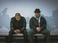Michael B. Jordan y Sylvester Stallone en una escena de la película 'Creed'