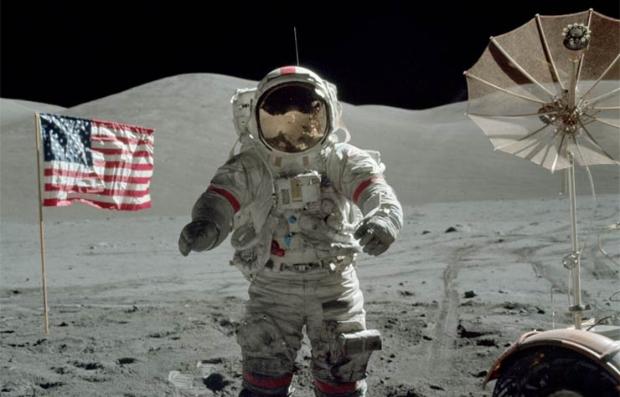 Escena de la película The Last Man on the Moon