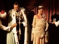 Hugh Bonneville y Gillian Anderson en una escena de la película 'Viceroy's House'