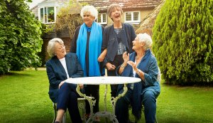 'Tea With the Dames': Actresses Judi Dench and Maggie Smith Dish