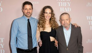 Hilary Swank Talks Caregiving at AARP's 'What They Had' Premiere